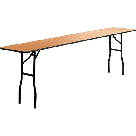 Leg Seminar Table - Flash Furniture Wood Folding Training or Seminar Table YT-WTFT18X96-TBL-GG