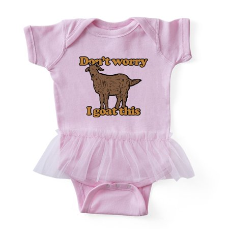 e3e0120b72e CafePress - Don t Worry I Goat This - Cute Infant Baby Tutu Bodysuit -  Walmart.com