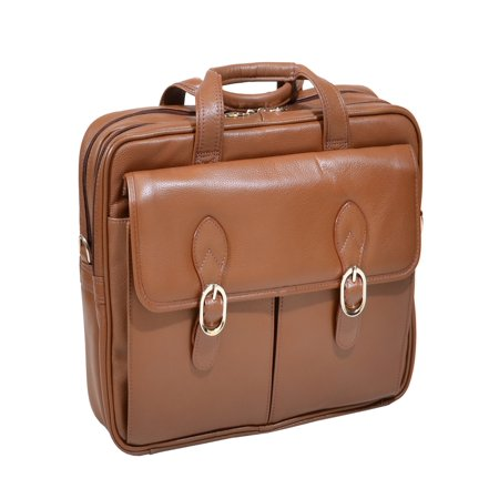 Solo 15.4 Leather Laptop - McKlein 15.4