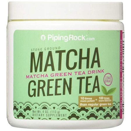 Piping Rock Matcha Green Tea Powder 4 oz (113 grams) Dietary (Man Tea Rock Hard Formula For Sale)