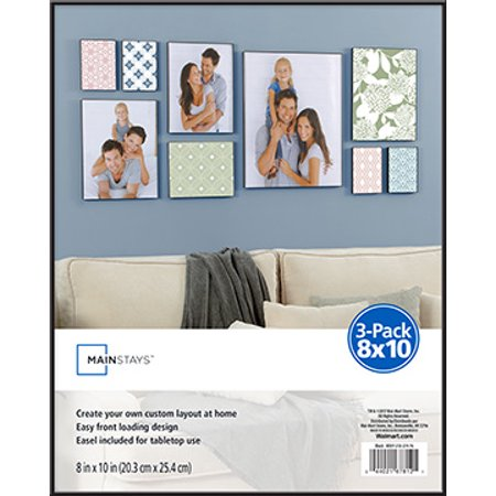 Mainstays Format Frame 3pk 8x10 Walmartcom