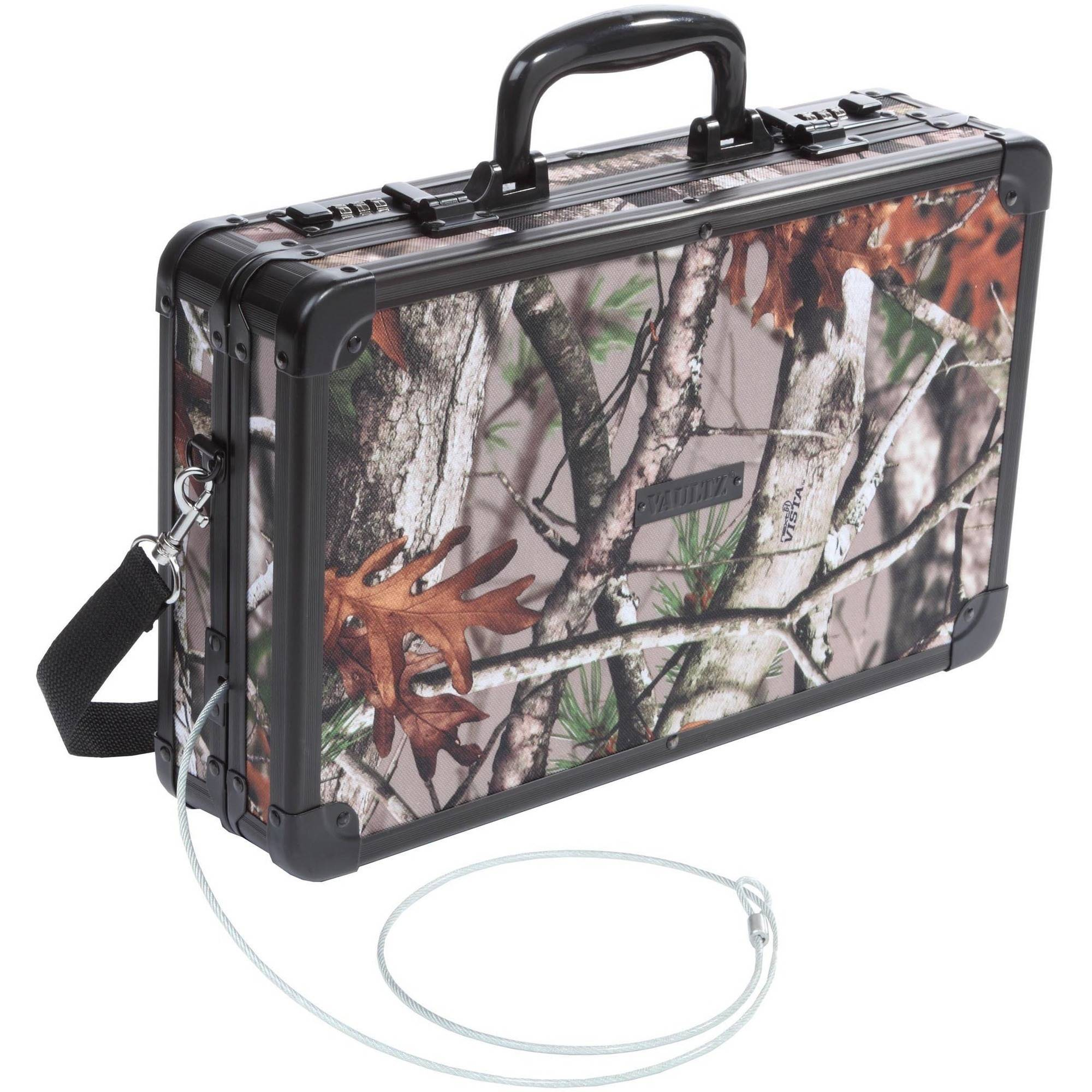 Vaultz Hard-Sided Handgun Case, Next Camo