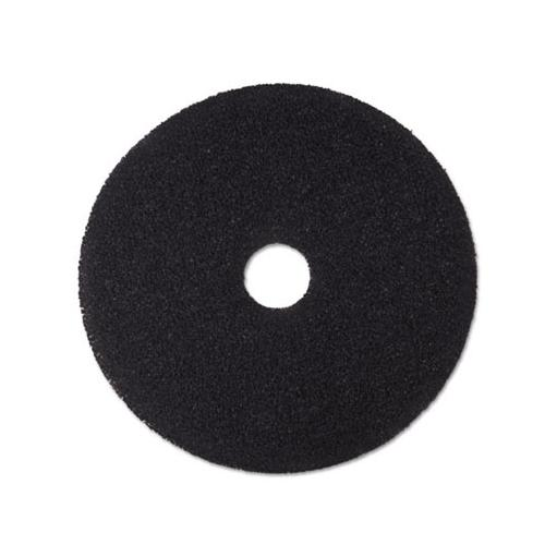 "3m 18"" Black Stripper Floor Pads MCO08380"