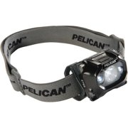 Pelican 027650-0100-110 105-Lumen 2765 Safety Approved 3-LED Headlight, Black