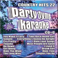 Various Artists - Party Tyme Karaoke: Country Hits, Vol. 22 - CD