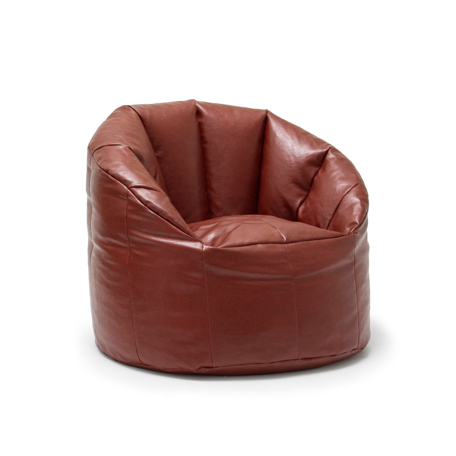 Big Joe Milano Bean Bag Vegan Faux Leather Chair