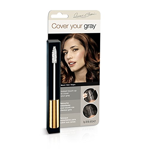 Cover Your Gray Hair Coloring Color Comb Black (Pack of 6)