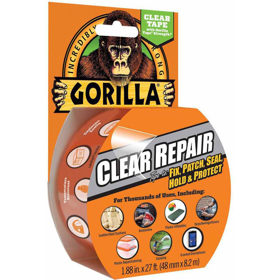 Gorilla Clear Repair, 9-Yard Roll
