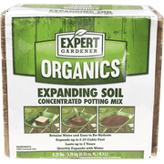 Expert Gardener Organics 2.25 Cu Ft Expanding Soil Concentrated Potting Mix