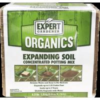 Expert Gardener Organics 2.25 Cu Ft Expanding Soil Concentrated Potting Mix