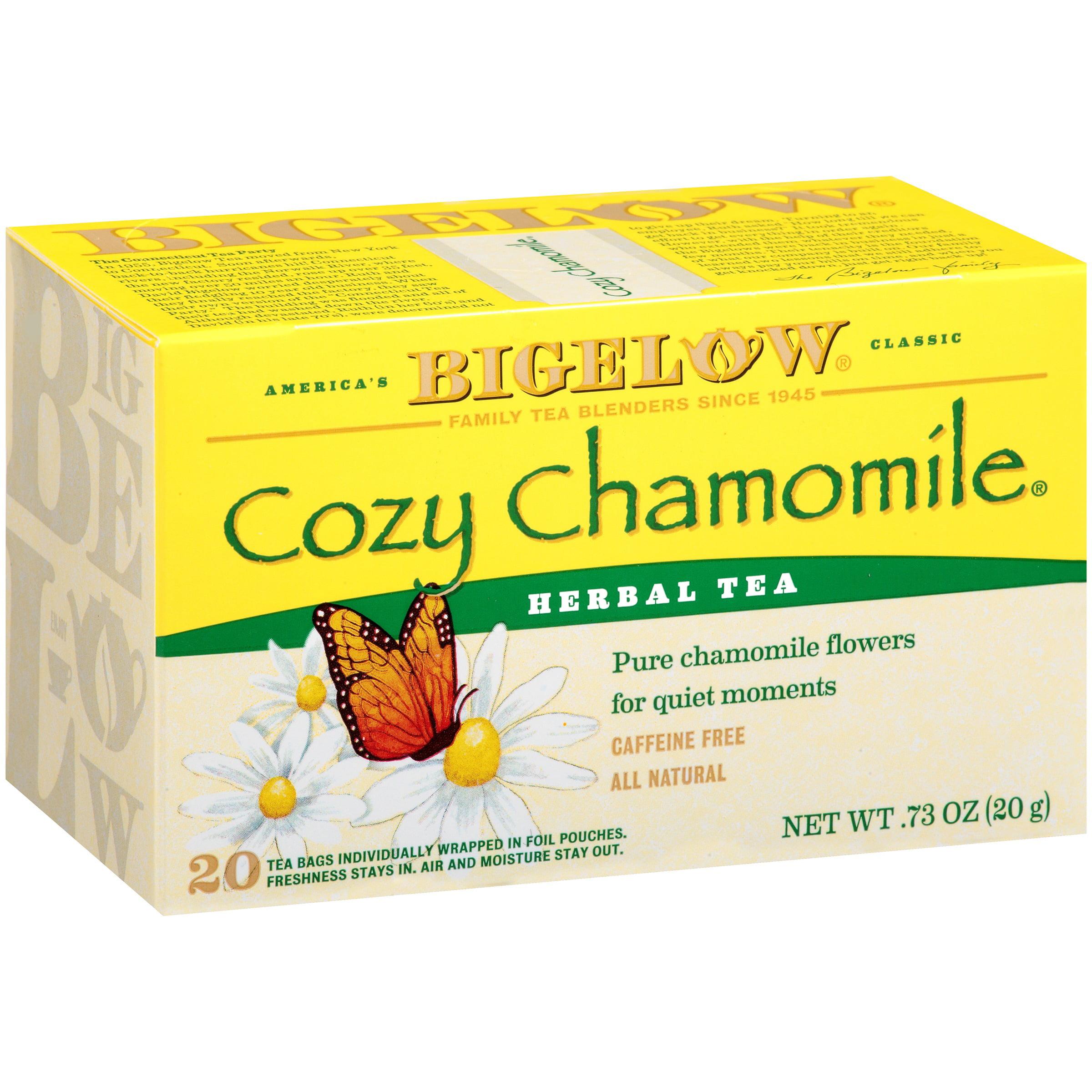 Bigelow Herbal Tea Bags Cozy Chamomile 20 CT by R.C. Bigelow, Inc.
