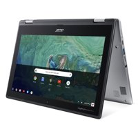 "Acer Chromebook Spin 11 CP311-1H-C1FS Convertible Laptop, Celeron N3350, 11.6"" HD Touch, 4GB DDR4, 32GB eMMC"
