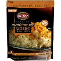 Potatoes & Stuffing: Idahoan Steakhouse Potatoes