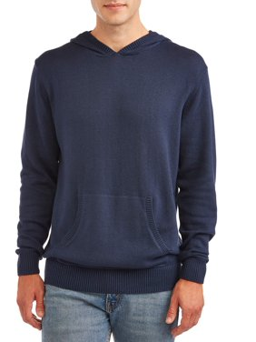 George Men's and Big Men's Hooded Sweater, up to Size 3XL