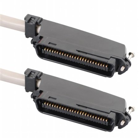 ICC ICPCSTMM15 50 Pin Male To Male Telco connector CAT 3 Telco cable, 15 ft.