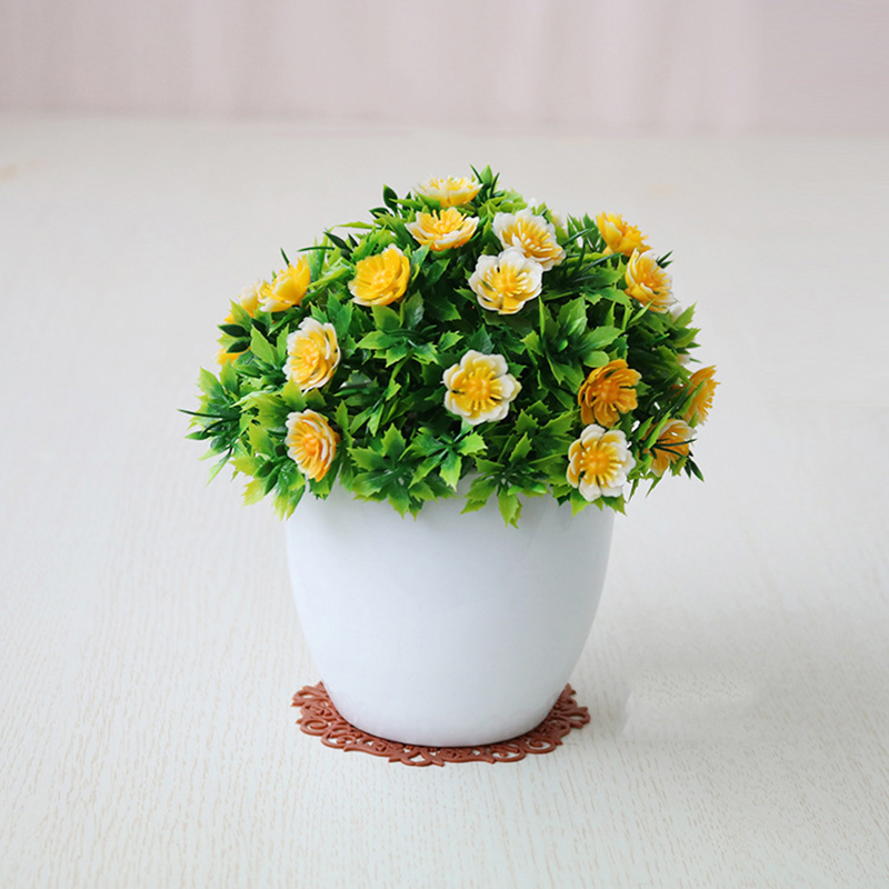 Artificial Fake Potted Flower Plant Bonsai Outdoor//Indoor//Garden Home Decoration