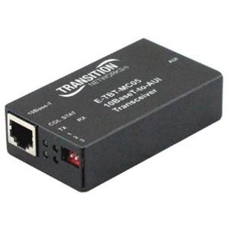 Transition Networks , Networks Ethernet To AUI Converter E-TBT-MC05