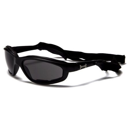 Mens Chopper Motorcycle Sunglasses Fishing Golf Sports Black Clear Night - Night Golf