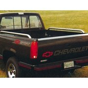 Go Industries Inc. 514B Bed Rails, Black, For Select Trucks