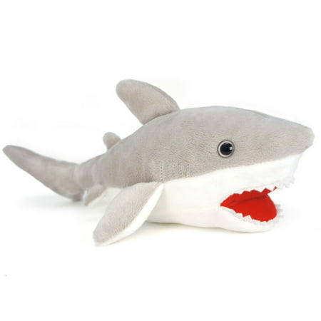 Shark Tale Lola (Mason the Great White Shark | 16 Inch Large Stuffed Animal Plush | By Tiger Tale)