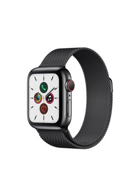 Apple Watch Series 5 GPS + Cellular - 40mm Milanese Loop Stainless Steel Case