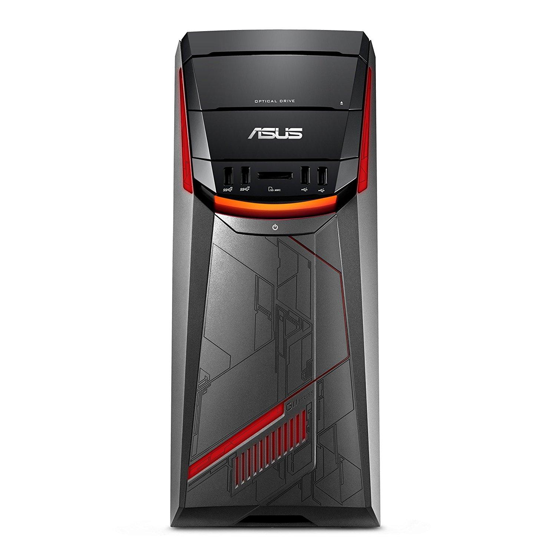 Manufacturer Refurbished - Asus G11DF-DBR5-GTX1060 Gaming PC AMD Ryzen 5 1400 3.2GHz 8GB 1TB+256GB SSD W10