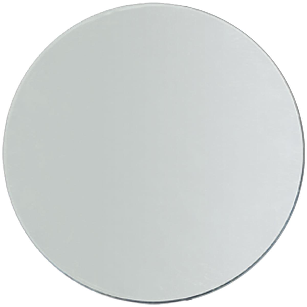 """Darice Round Glass Mirror, 9"""""""