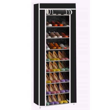 Ktaxon Portable Shoe Rack Shelf Storage Closet Organizer Cabinet