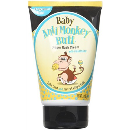 Baby Anti Monkey Butt Diaper Rash Cream w Calamine 3 (Best Anti Rash Cream For Babies)