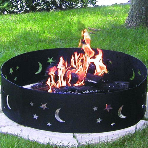 Evening Sky Outdoor Fire Pit Ring