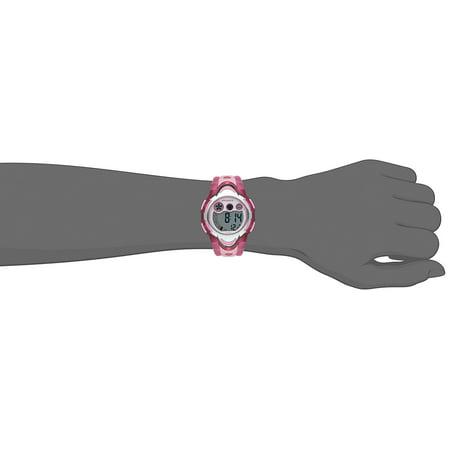Led Waterproof Sports Digital Watch For Children Girls Boys  Pink