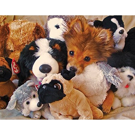Golden Retriever Puppy Jigsaw Puzzle (Springbok Playtime Puppies 400-Piece Jigsaw Puzzle )