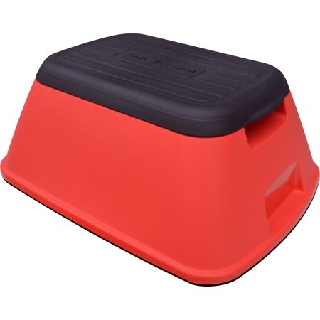 Prime Safe T Stool Anti Tip Lightweight Safety Step Stool With 500 Lb Capacity Matte Red Machost Co Dining Chair Design Ideas Machostcouk