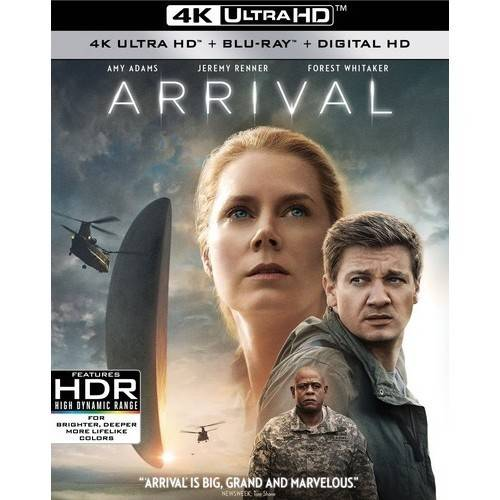 Arrival (4K Ultra HD + Digital HD) (Walmart Exclusive) (With INSTAWATCH) (Widescreen) by
