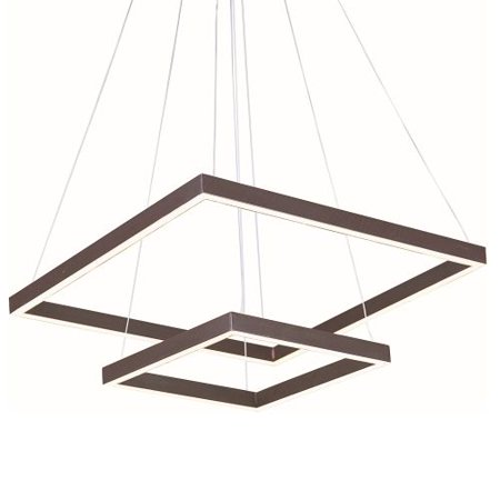 """ET2 E22405 55 Light 19.75"""" Wide Pendant from the Quad Collection"""