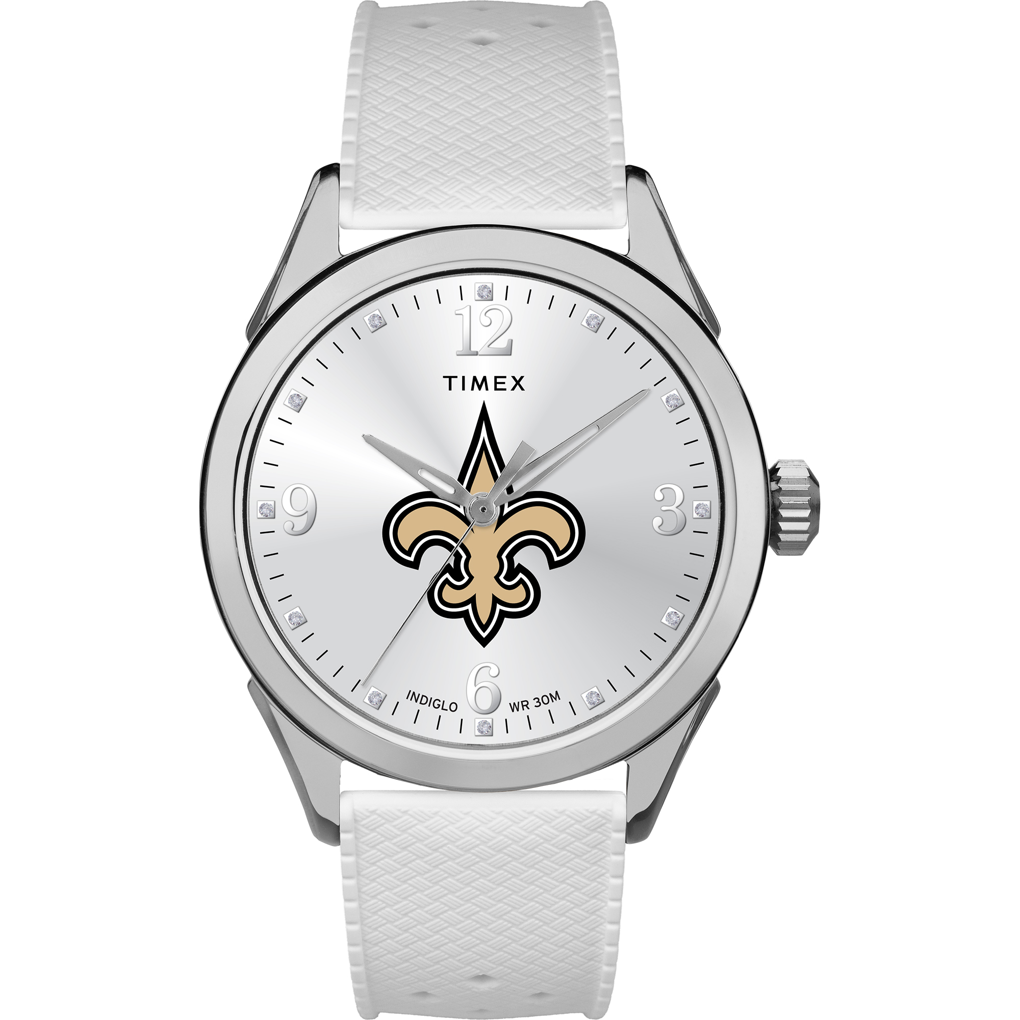 Timex - NFL Tribute Collection Athena Women's Watch, New Orleans Saints