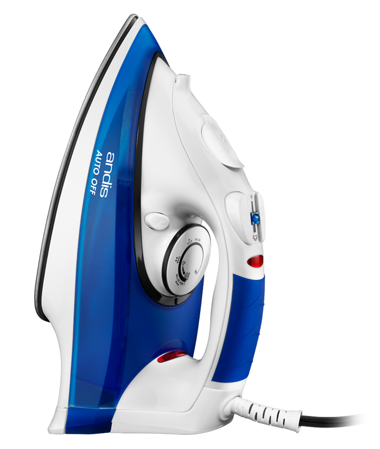Andis 2 Way Auto Off Steam Iron with Steam Knob, White by Andis Company