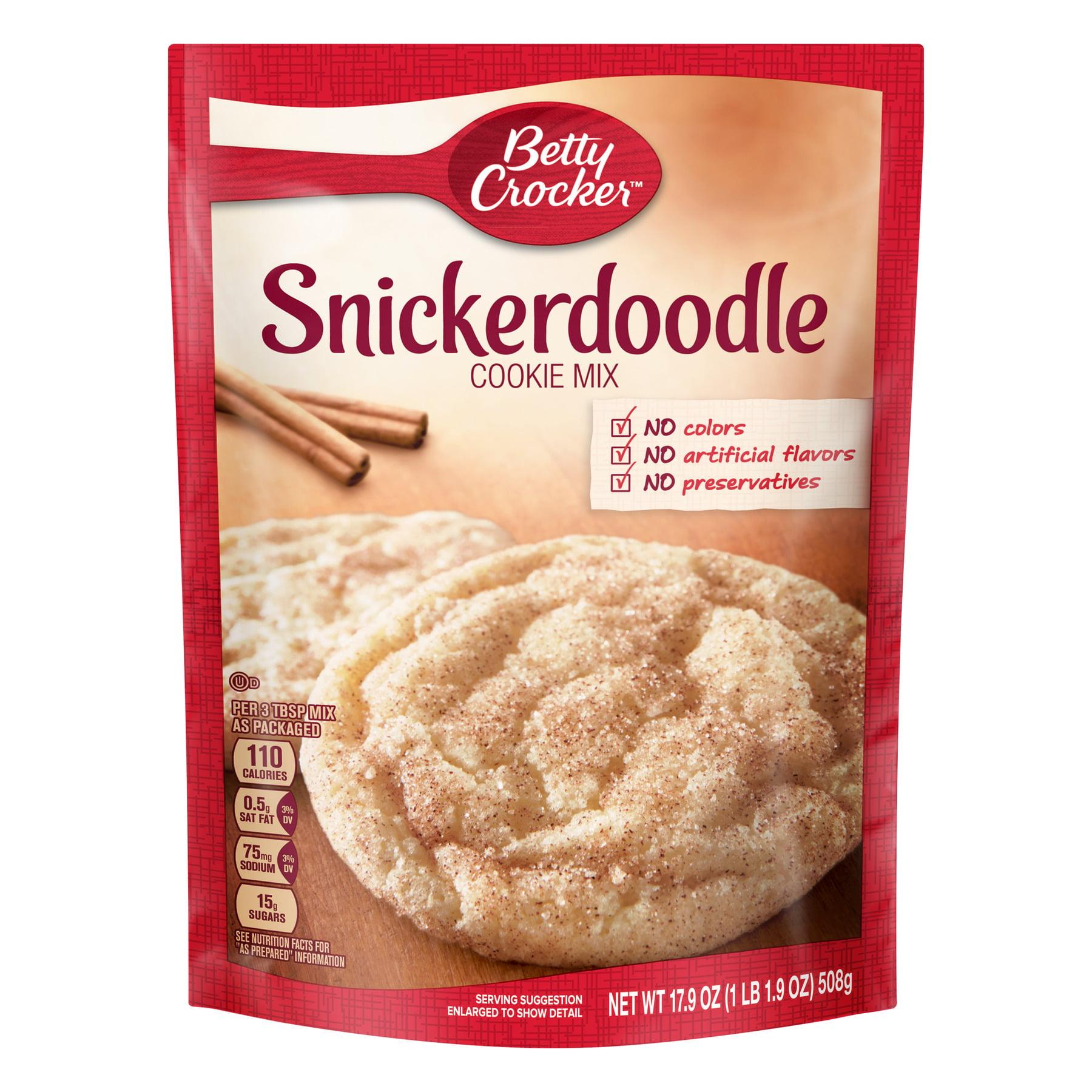 Betty Crocker Snickerdoodle Cookie Mix, 17.9 oz Box
