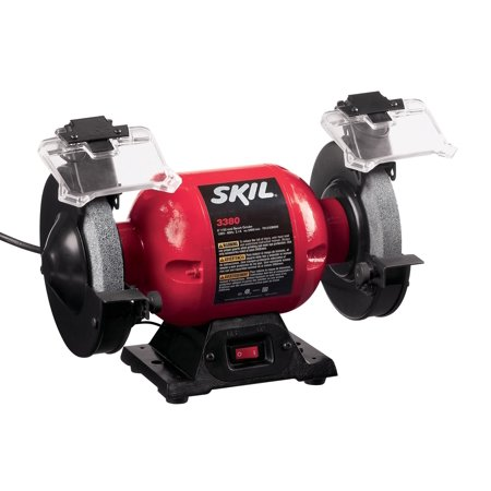 SKIL 6-Inch Grinder With Light, 3380-01