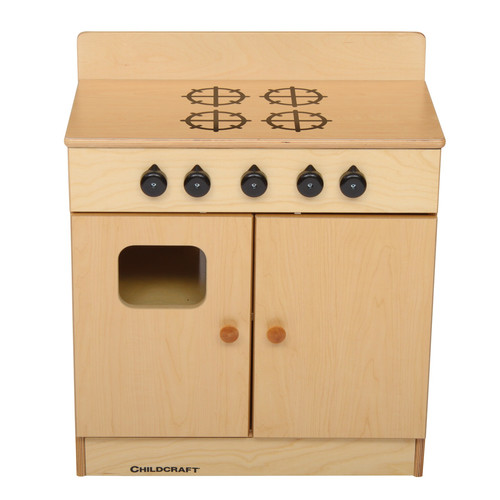 "Childcraft Traditional 4-Burner Play Stove, 24"" x 27.75"" x 13.63"""