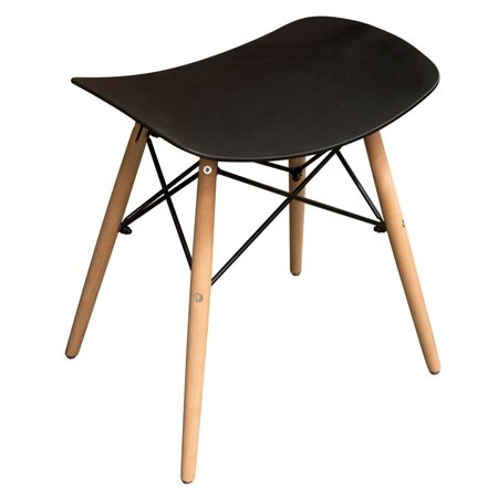 - Accent Stool in Black - Set of 2
