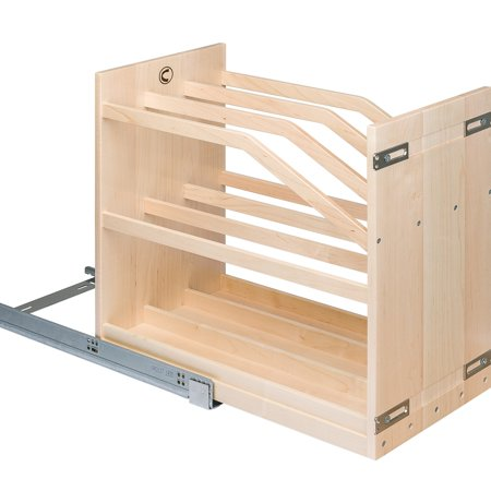 - Century Components CTP115PF Base Cabinet Pull-Out Kitchen Cookie Tray Organizer 11-7/8