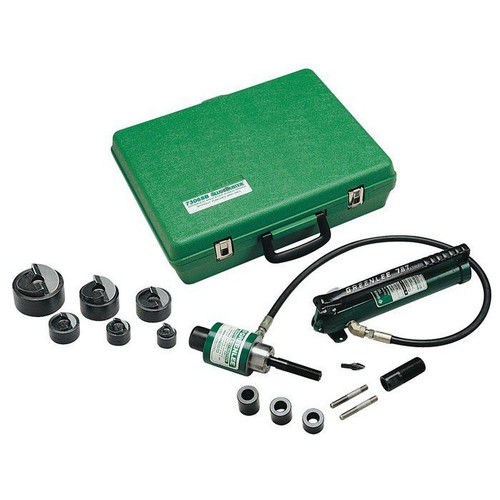 Factory-Reconditioned Greenlee FCE7306SB 1/2 in. SlugBuster Hydraulic Knockout Punch kit (Refurbished)
