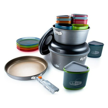GSI Outdoors 50181 Pinnacle Camper Cooking and Eating Set