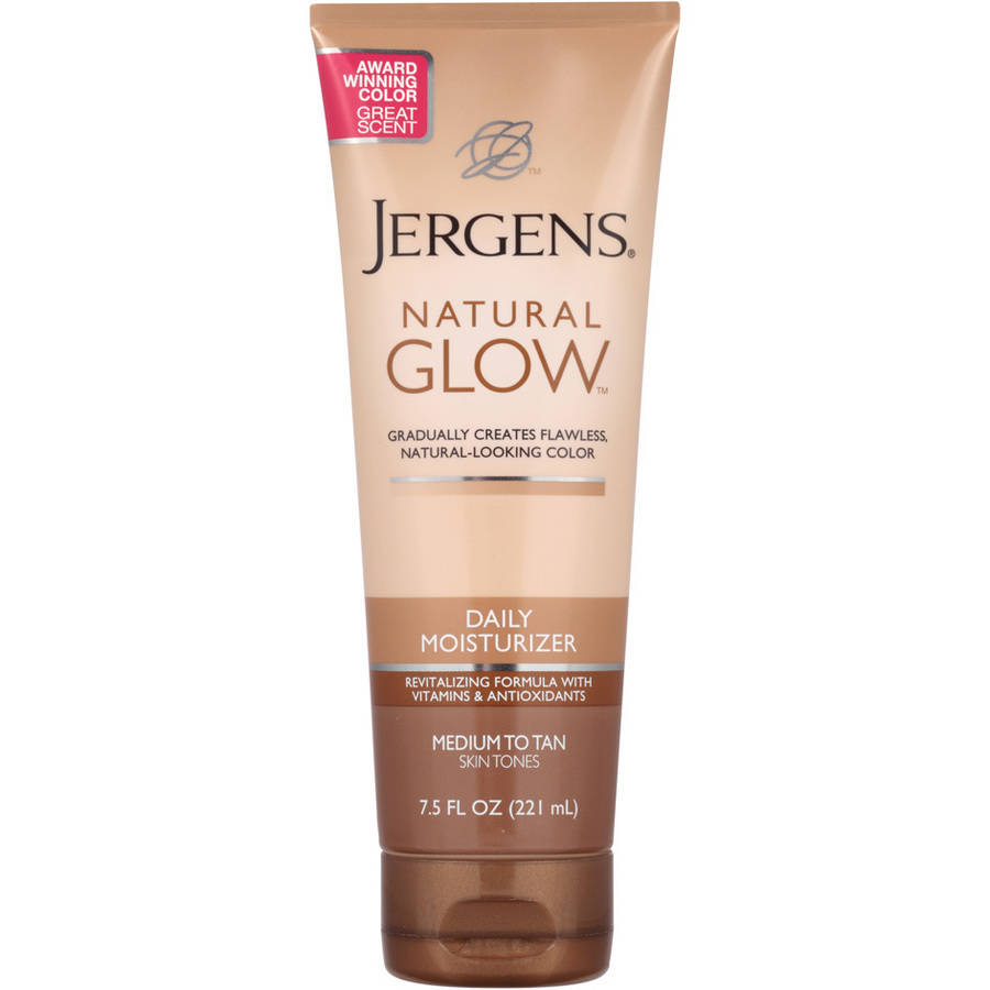 Jergens Natural Glow Daily For Medium/Tan Skin Tones Moisturizer, 7.5 fl oz