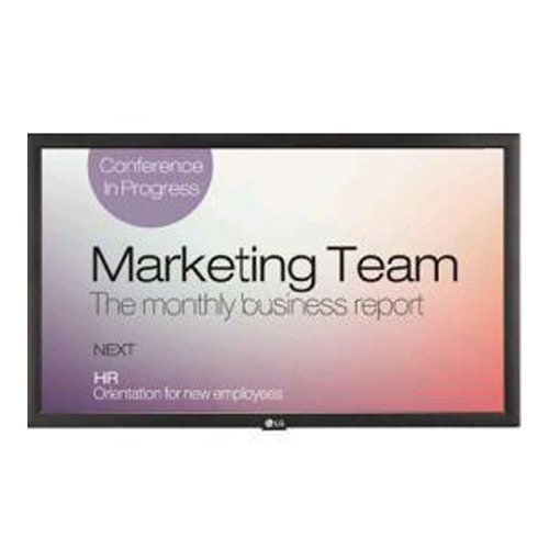 "LG 22sm3b-b Digital Signage Display - 22"" Lcd Quad-core [..."