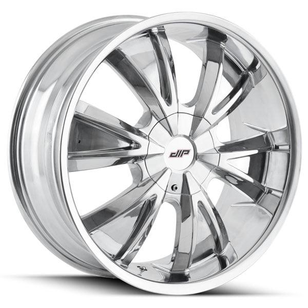 20 Inch Dip D38 Vibe 20x8 5 5x1155x120 18mm Chrome Wheel Rim