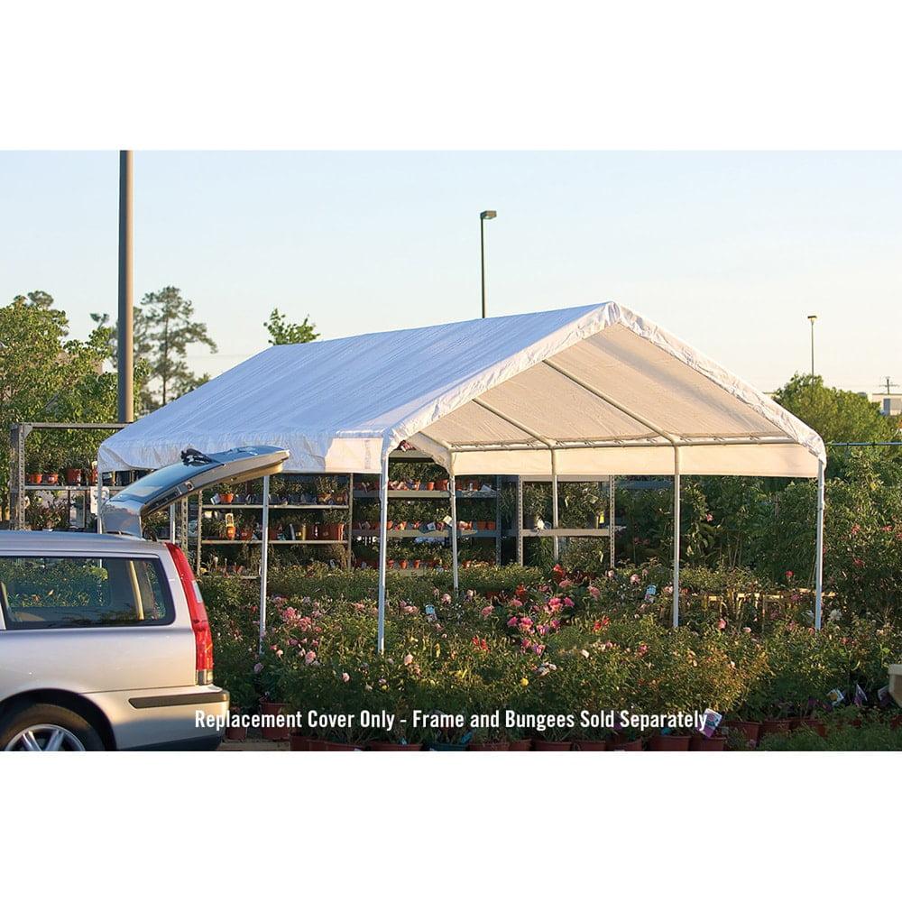 sc 1 st  Walmart & SuperMax 10u0027 x 20u0027 All Purpose Canopy Replacement Cover - Walmart.com