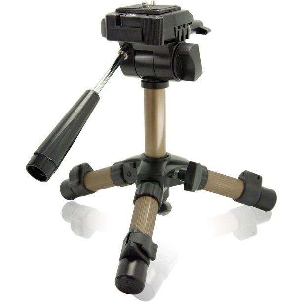 Ls Photography Max 11 Portable Table Top Tripod With 360 Degree Swivel Panhead And Bubble Level For Camcorders And Digital Slr Cameras Wmt1156 Walmart Com Walmart Com