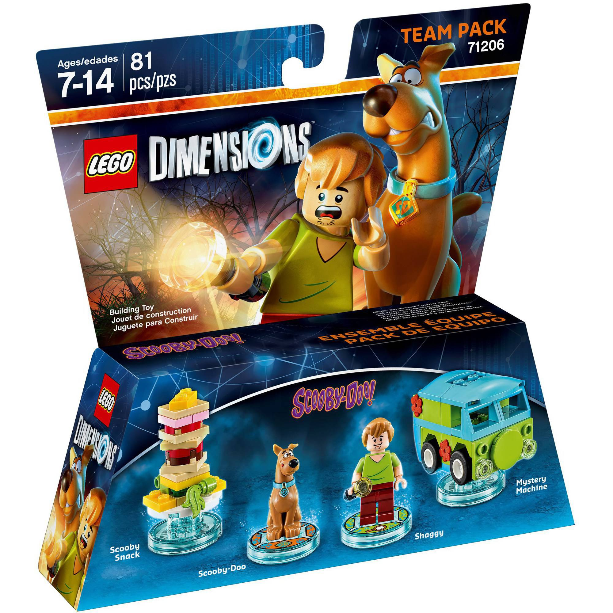LEGO Dimensions Scooby Doo (Scooby Doo) Team Pack (Universal ...